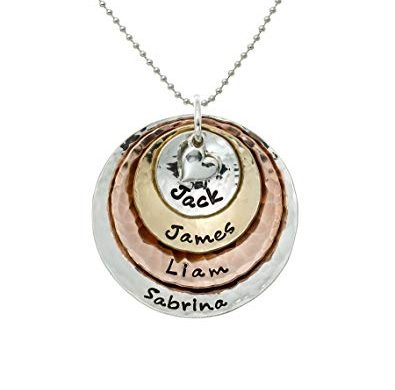 personalized necklace, mom necklace, cat mom, kitty mom, cat lover, cat jewelry, gift, gift idea, mothers day, mothers day for cat moms, cat mothers day, personalized jewelry, name necklace