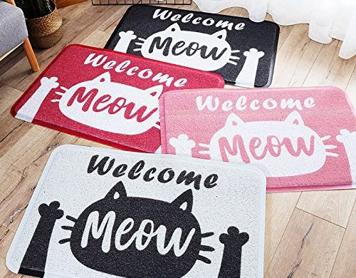Cat Doormat, Rectangle, Non-slip, Cat Rug, Floor Rug, Indoor, Outdoor, Front Door Mat, Cat Carpet, Welcome Mat