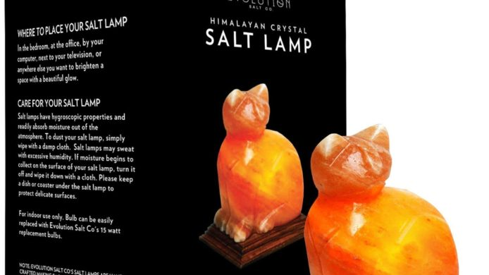 himalayan salt lamp, cat nightlight, cat night light, salt lamp, crystal salt lamp, cat decor for the home